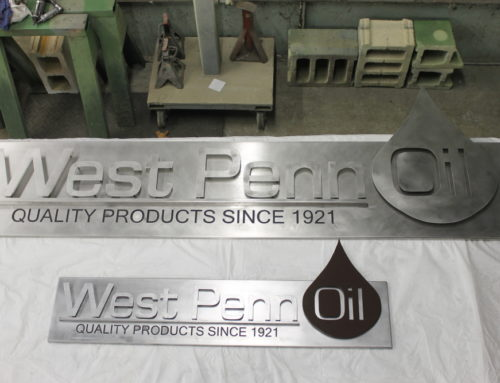 West Penn Oil Signs – Job #1283